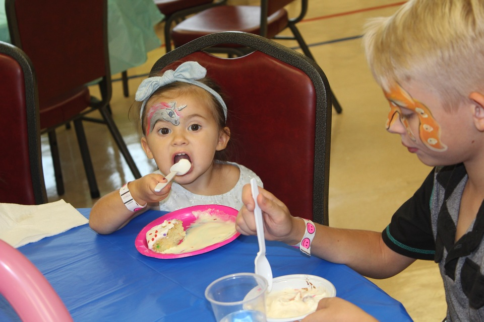 Scenes from the Ice Cream Social