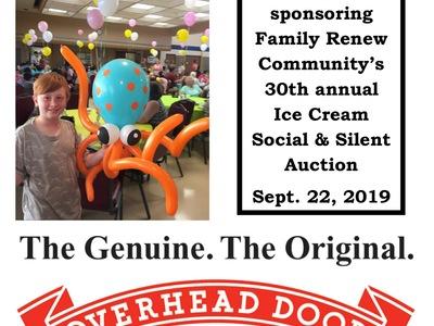 30th Annual Ice Cream Social Sponsors