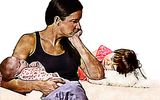 Economic thud gets mom unstuck