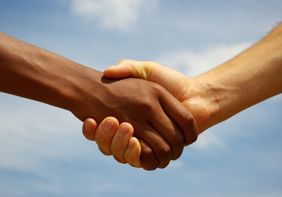 Handshake was 'huge'